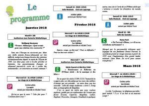 Programme de l'Université Populaire de la Narbonnaise @ Mediathèque du Grand Narbonne  | Narbonne | France