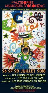 Les Astropies Musicales d'Olonzac - Trois jours de spectacles et de stages musicaux @ Olonzac | Occitanie | France