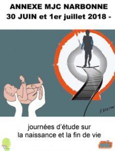 Journées d'Etudes de Bioéthique sur la naissance et la fin de vie @ annexe MJC Narbonne | Narbonne | Occitanie | France