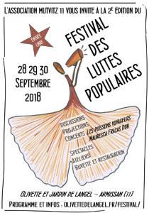 Festival des Luttes Populaires 2018 @ Olivette de l'Angel | Armissan | France