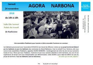 Assemblée AGORA NARBONA @ Salle Elie Sermet Palais du Travail | Narbonne | Occitanie | France