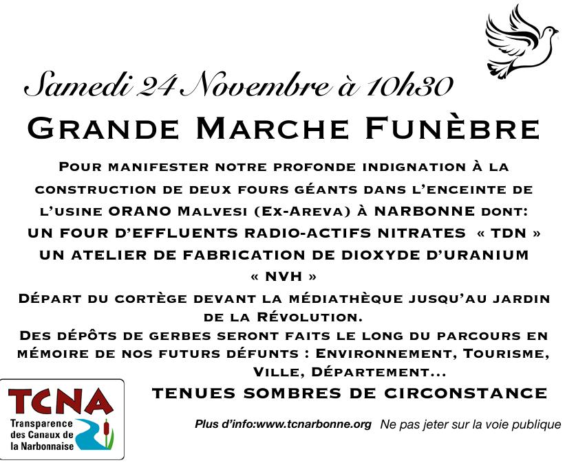 ORANO - Marche funèbre @ Narbonne | France