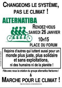 Manifestation d'Alternatiba Narbonne @ Place du Forum Narbonne | Narbonne | Occitanie | France