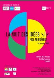 A Narbonne : Nuit des Idées ! @ Palais du travail Salle des fëtes | Narbonne | Occitanie | France