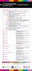 Programme de la Médiathèque de Narbonne : Janvier 2019 @ Mediathèque du Grand Narbonne | Narbonne | Occitanie | France