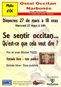Conférence : se sentit Occitan...Qu'est ce que cela veut dire ? @ Ostal Occitan (sous Office du Tourisme) | Narbonne | Occitanie | France