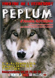 Au théâtre de l'Entresort : PEPLUM d'Amélie Nothomb @ Théâtre de l'Entresort | Narbonne | Occitanie | France