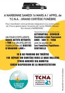 Manifestation contre les projets de fours géants à Malvési @ Départ parking du Théatre-Cinéma de Narbonne | Narbonne | Occitanie | France