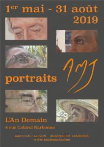 "Exposition de portraits à  la galerie ""L'An Demain"" à Narbonne @ Galerie L'An Demain 