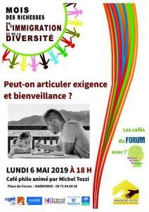 Café Philo : Peut-on articuler bienveillance et exigence ? @ Le Forum | Narbonne | Occitanie | France