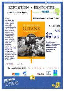 Narbonne : exposition + rencontre sur les musiciens de la Rumba gitane @ Café du Forum | Narbonne | Occitanie | France