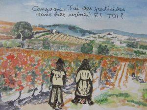 Campagne glypho 11 : prélèvement d'urines au domaine de Langel (Armissan) @ Domaine de Langel | Armissan | France