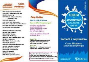 Narbonne : forum des associations @ Cours Mirabeau & cours de la République | Narbonne | Occitanie | France