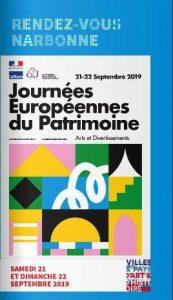 Narbonne : Journées européennes du Patrimoine @ Duvers lieux à Narbonne et environs | Narbonne | Occitanie | France