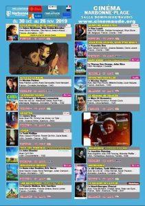 Cinéma Narbonne-Plage : programme de novembre @ Salle Dominique Baudis | Narbonne | Occitanie | France