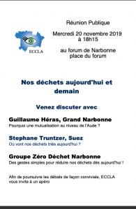 Nos déchets aujourd'hui et demain @ Forum Narbonne | Narbonne | Occitanie | France