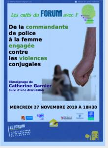 Narbonne : Café du forum sur les violences conjugales @ Café du forum | Narbonne | Occitanie | France