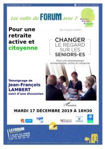 Narbonne : pour retraite active et citoyenne @ Forum EVS | Narbonne | Occitanie | France