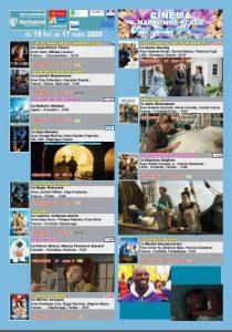 Narbonne plage : programme cinéma (Espace Dominique Baudis) @ Espace Dominique Baudis | Narbonne | Occitanie | France