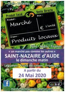 Marché en plein air @ St Nazaire d'Aude | Saint-Nazaire-d'Aude | Occitanie | France