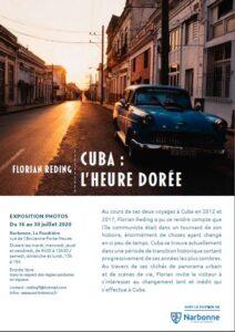Narbonne, exposition de photos : Cuba, l'heure dorée @ La Poudrière | Narbonne | Occitanie | France