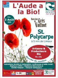 """Saint Polycarpe : journée """"l'Aude à la bio"""" @ Domaine du Grès Vaillant   Saint-Polycarpe   Occitanie   France"""