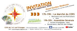 Monnaie locale : rencontre et AG du CERS à Narbonne @ Ostal Occitan Narbonne | Narbonne | Occitanie | France