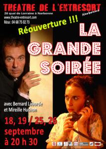 Narbonne : réouverture du Théâtre de l'Entresort @ Theatre de l'Entresort | Narbonne | Occitanie | France