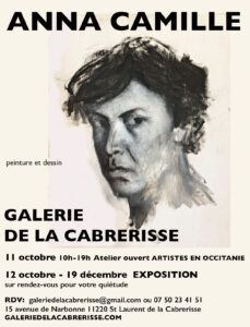 Saint Laurent de la Cabrerisse : expo d'Anna Camille à la galerie de la Cabrerisse @ Galerie de la Cabrerisse | Saint-Laurent-de-la-Cabrerisse | Occitanie | France
