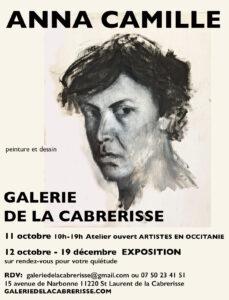 Saint Laurent de la Cabrerisse : expo d'Anna Camille à la galerie de la Cabrerisse @ Galerie de la Cabrerisse | Saint-Laurent-de-la-Cabrerisse | Occitanie | France