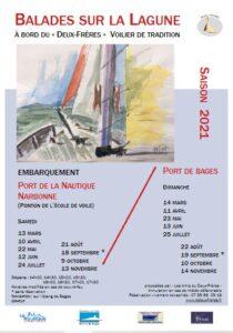 Etang de Bages : ballades sur la lagune @ Port de La Nautique le samedi & Port de Bages le dimanche | France