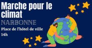 Narbonne : marchons pour le Climat avec les Robines @ Place de l'Hotel de Ville | Narbonne | Occitanie | France