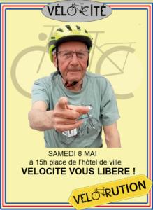 Narbonne : vélorution du 8 mai 2021 @ Place de l'Hotel de Ville | Narbonne | Occitanie | France