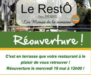 MJC Narbonne : reprise du Resto à emporter @ MJC Narbonne | Narbonne | Occitanie | France