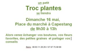 Troc plantes à Capestang @ Place Jean Jaurès | Capestang | Occitanie | France