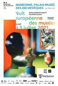 Narbonne : nuit européenne des musées @ Palais des archevêques | Narbonne | Occitanie | France