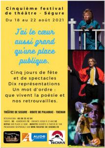 Cinquième Festival de Théâtre à la Forge de Ségure @ La Forge de Ségure | Tuchan | Occitanie | France