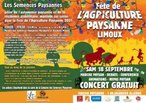Limoux : 6ème édition de la Fête de l'agriculture paysanne @ Maison paysanne | Limoux | Occitanie | France