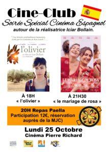 Gruissan : soirée spéciale cinéma espagnol @ Cinéma Pierre Richard | Gruissan | Occitanie | France